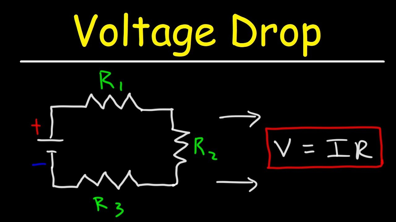 Calculation of voltage drops
